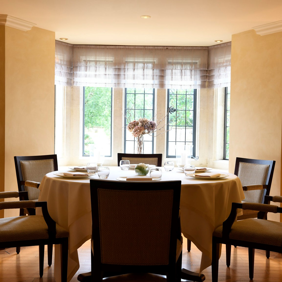 The Dining room at Whatley Manor