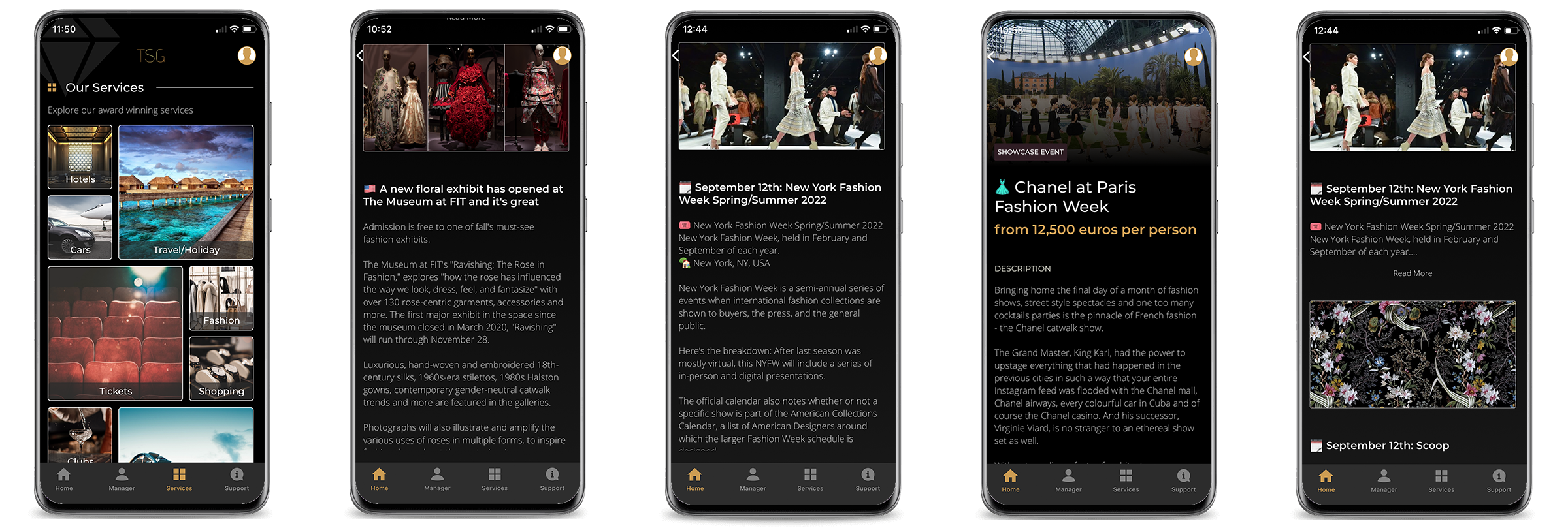 the latest british fashion awards news at the touch of a button with the sincura app