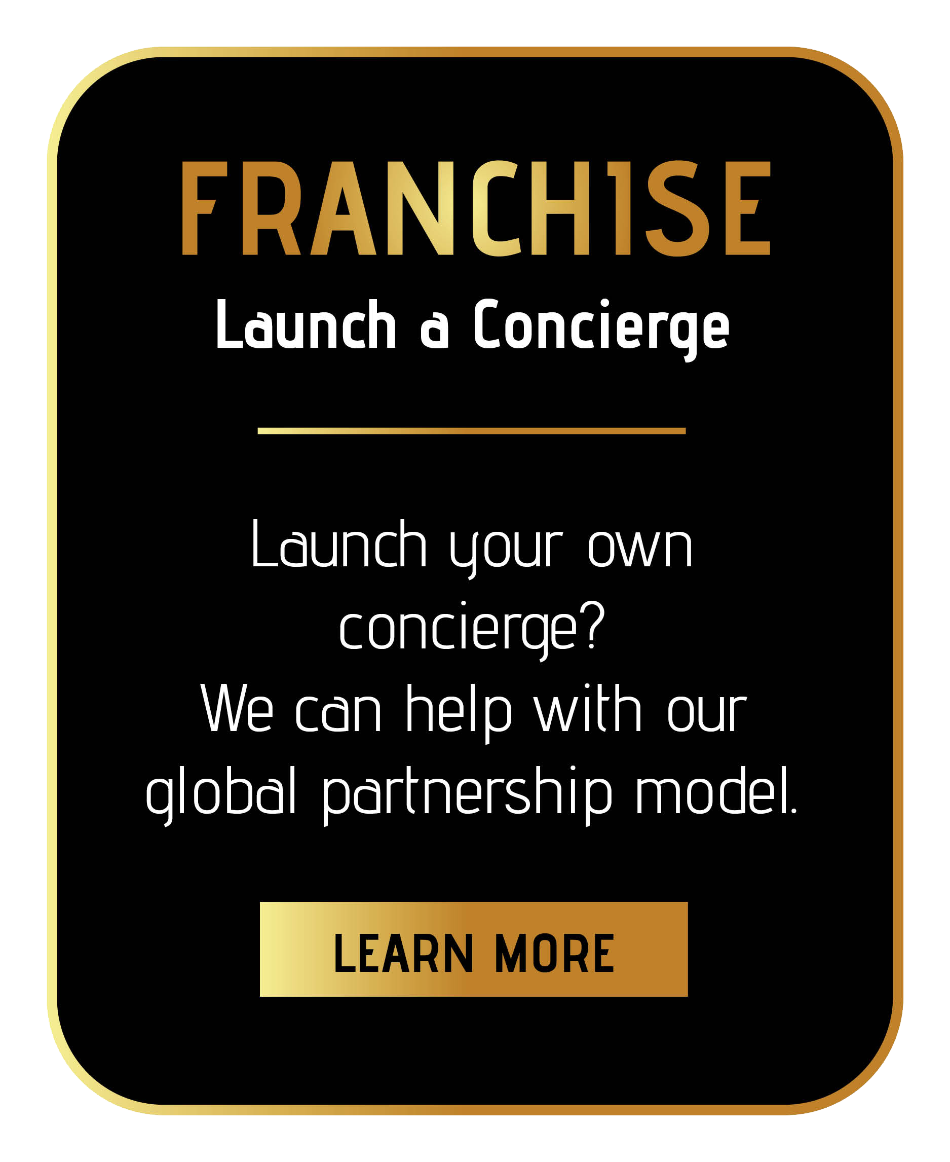 how to buy an award winning concierge service franchise through sincura