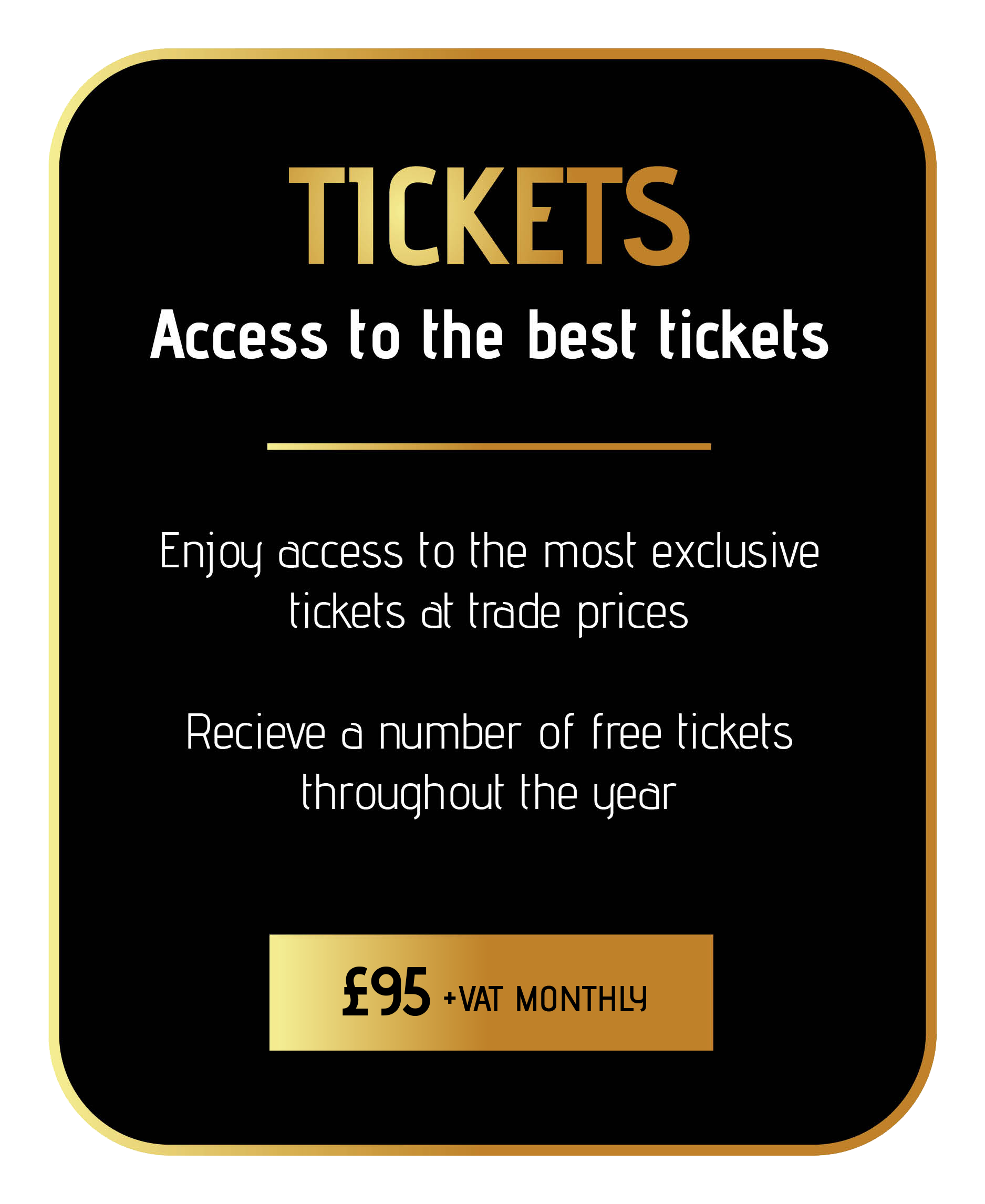 learn more about the sincura tickets membership