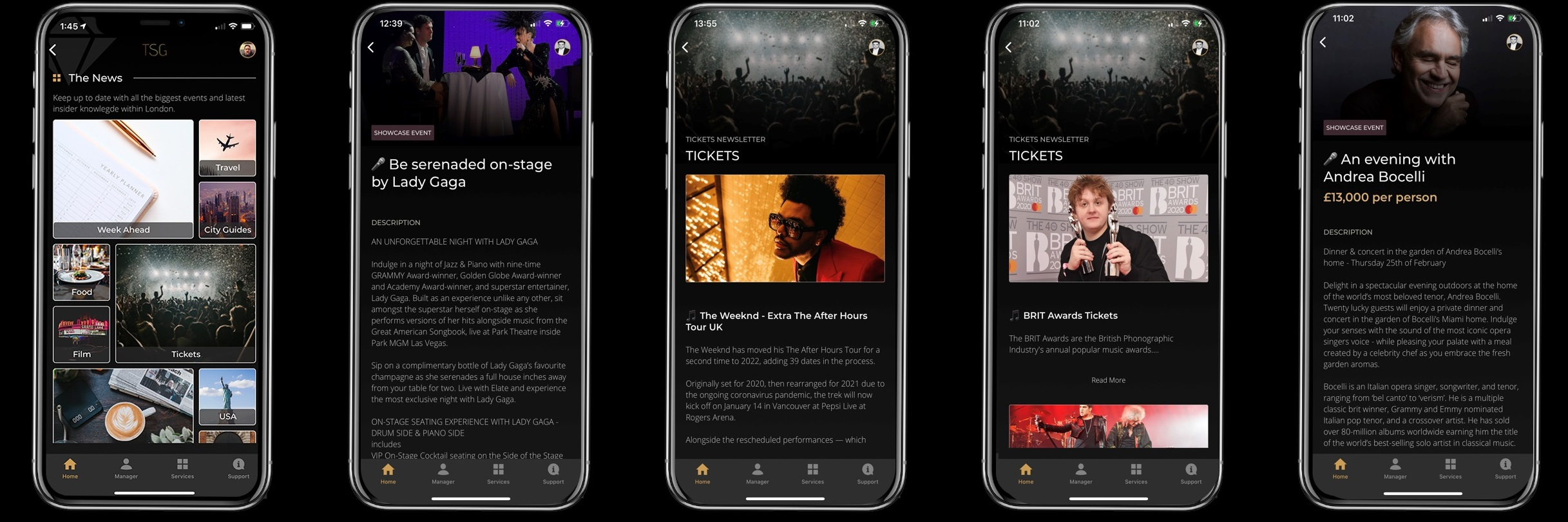 app to view the latest news tickets and events for the brit awards at the o2