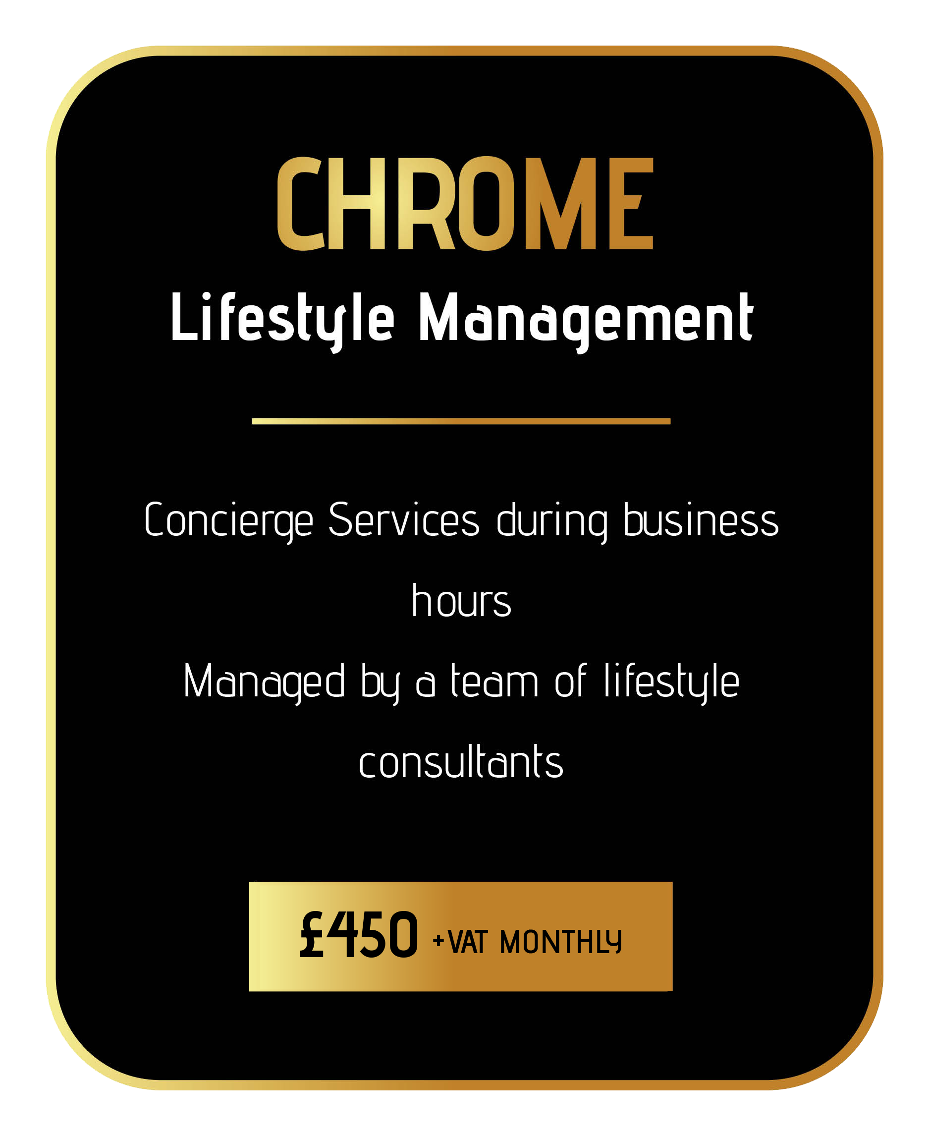 join sincura chrome concierge membership