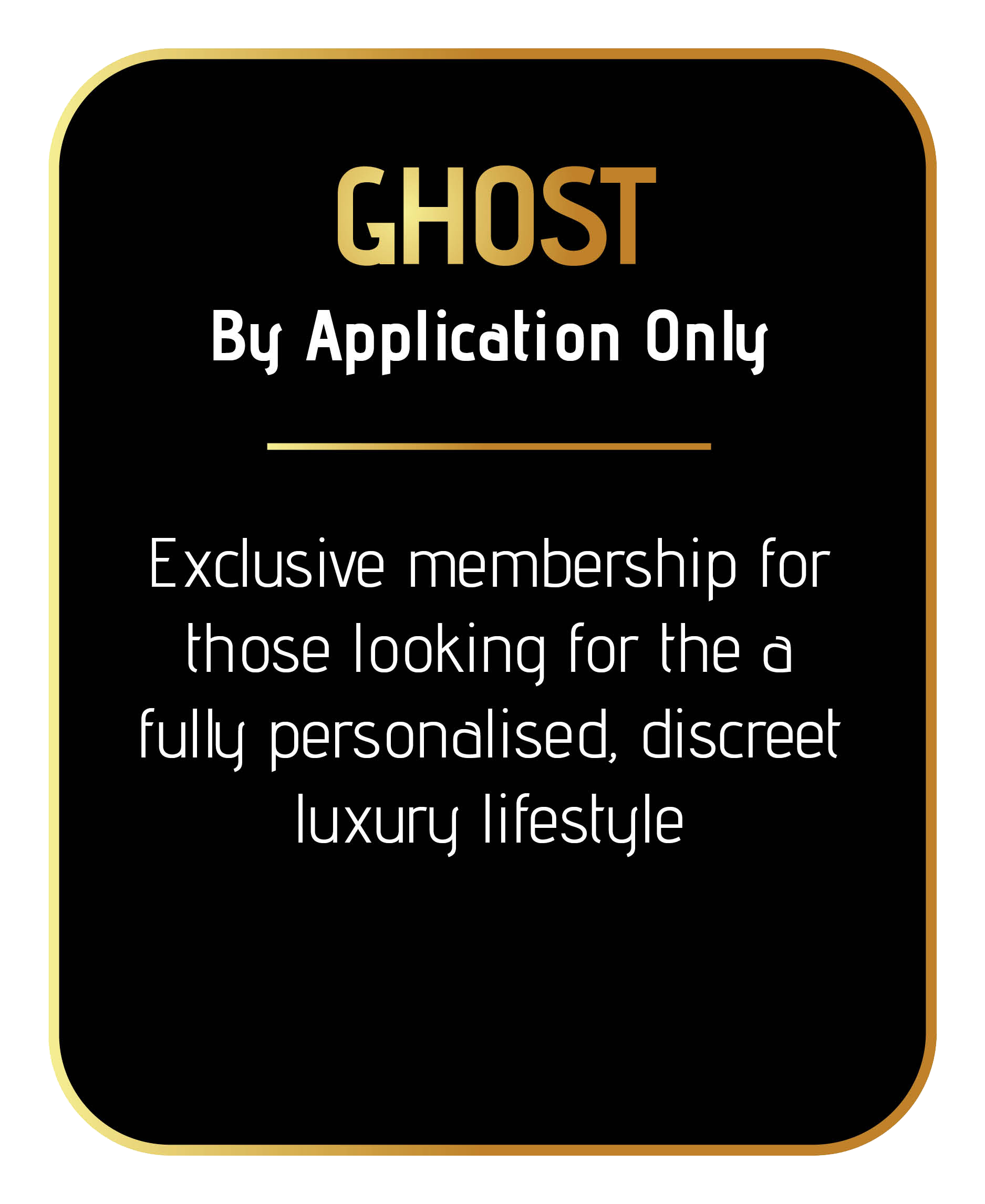join sincura ghost concierge membership