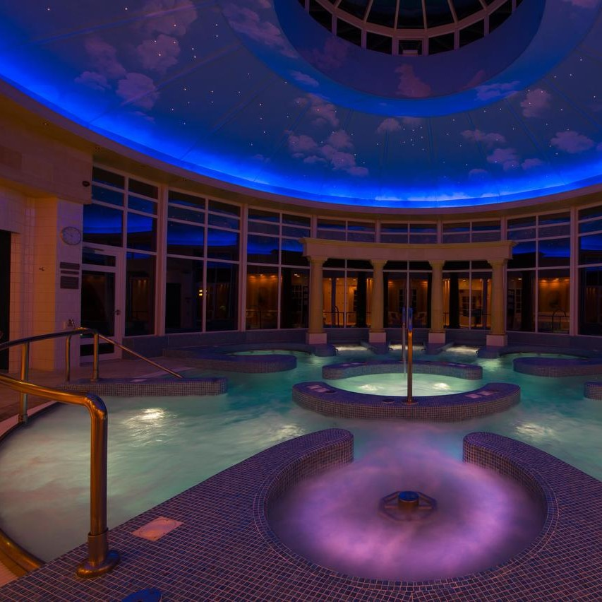 Swim, relax or workout at Chewton Glen