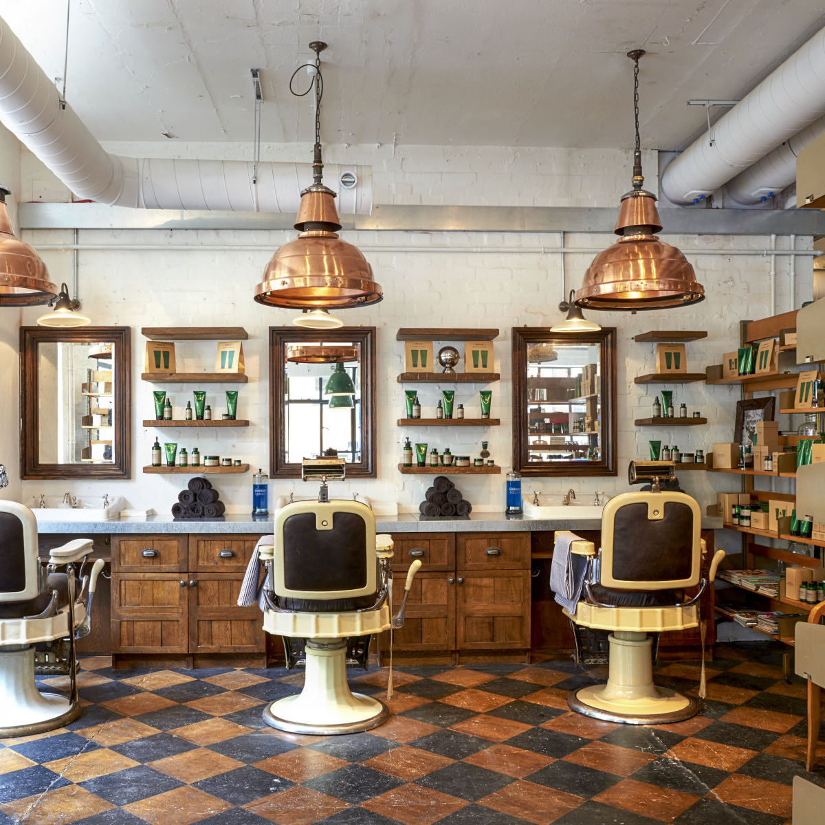 Neville at Barber Parlour