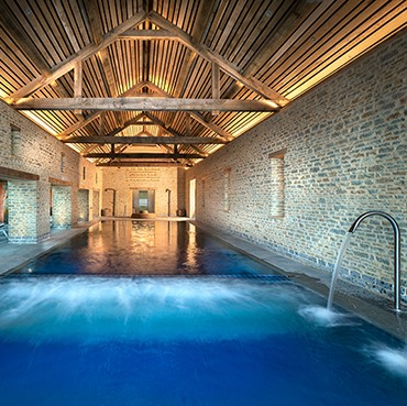 Relax at the spa at the newt