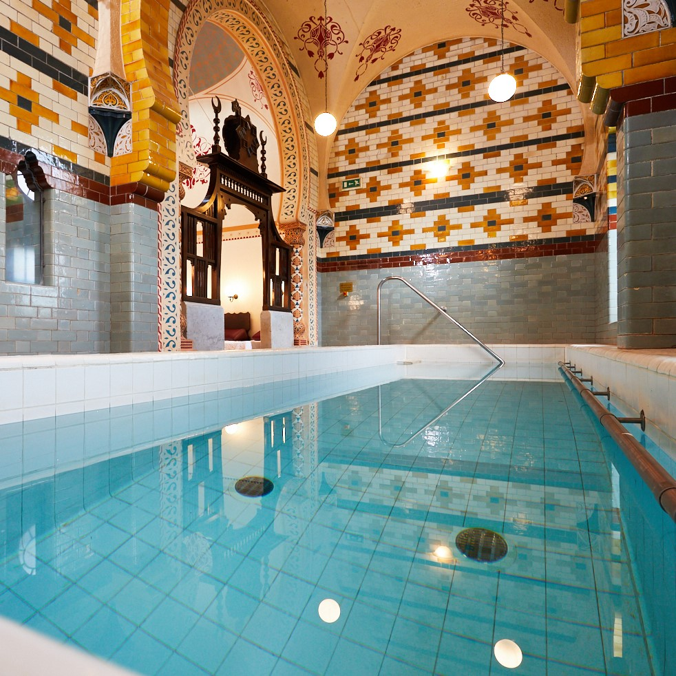 Relax At The Turkish Baths