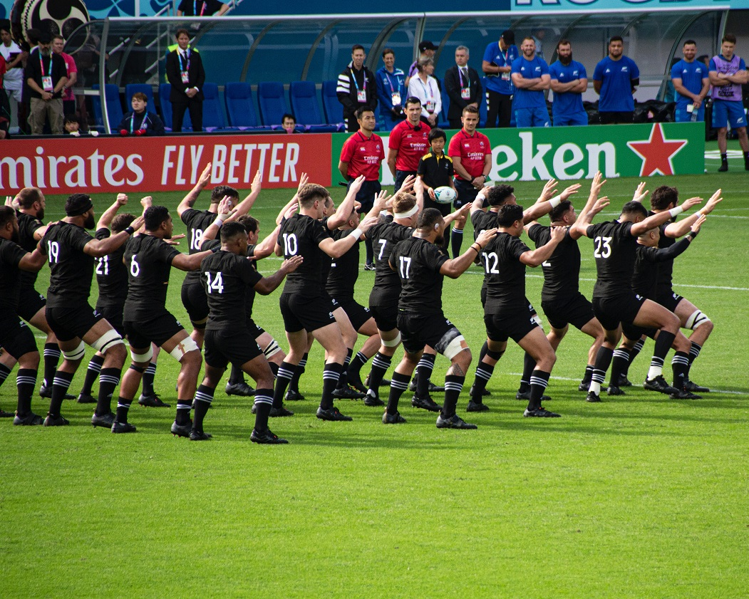 New Zealand Rugby Match