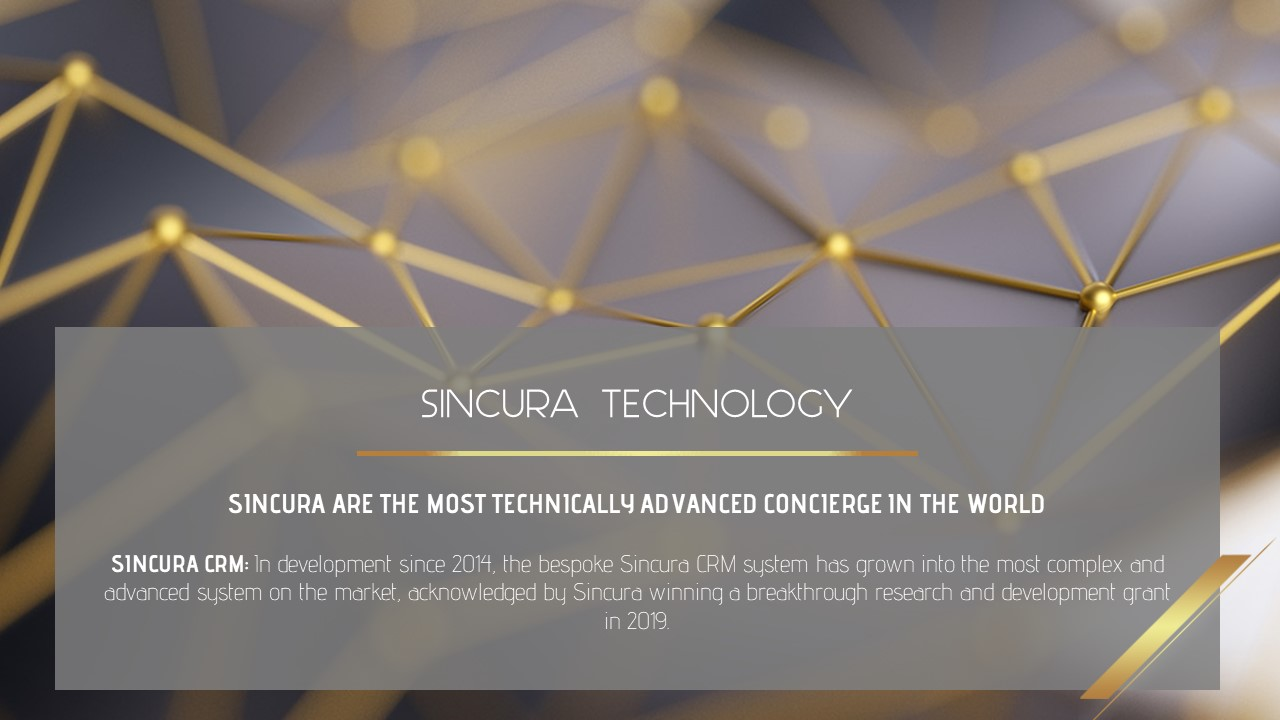 how many staff work for sincura