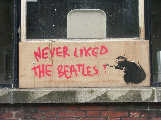 Banksy Never Liked The Beatles