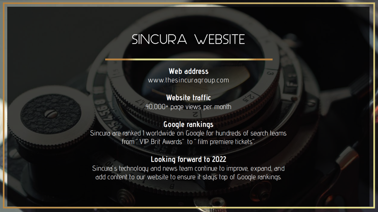 sincura group media pack