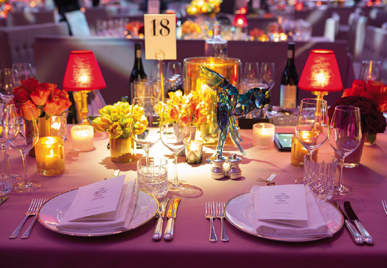 British Fashion Awards Hospitality and Dining
