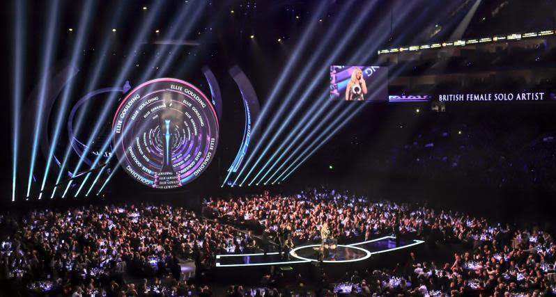 Have access to VIP level one seating to see the Brit stars as they are nominated