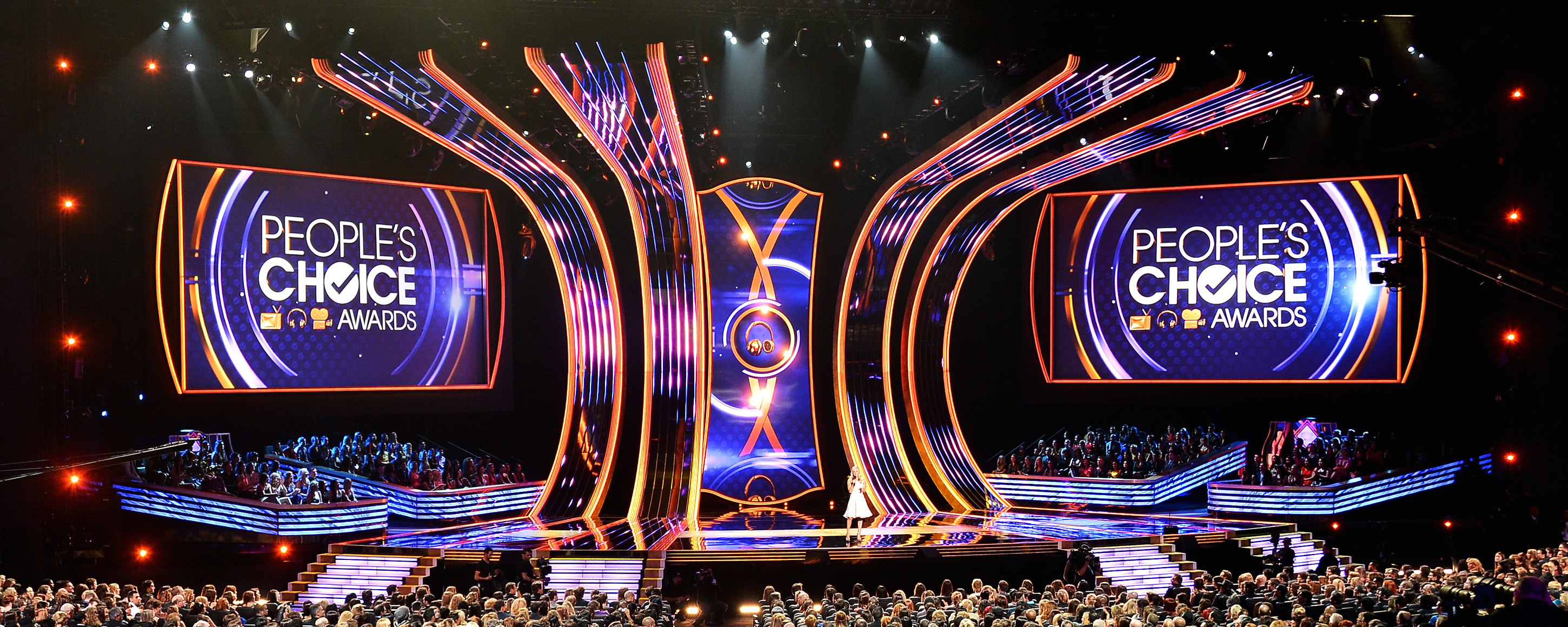 Peoples' Choice Awards stage