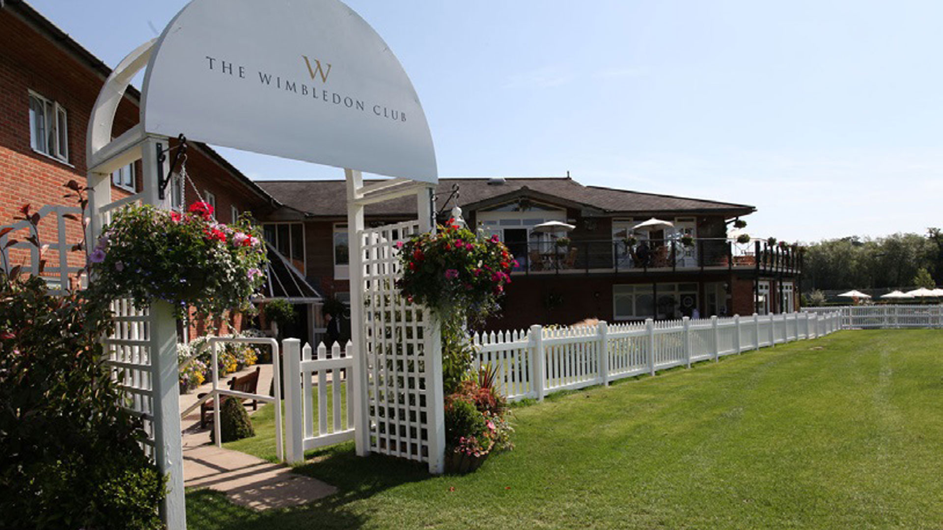 The Wimbledon Club is a great hospitality option for your guests