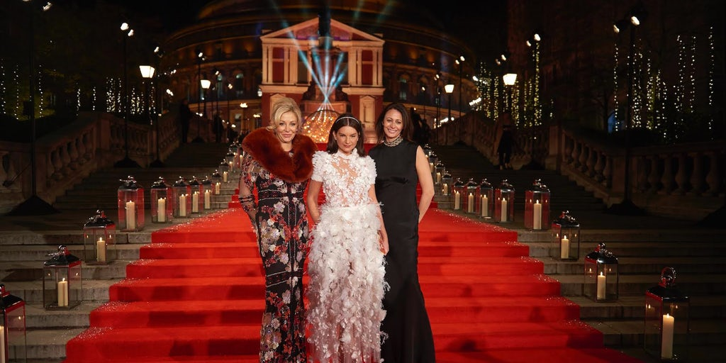 walk the red carpet at the british fashion awards with sincura