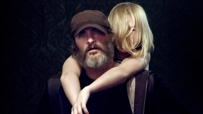 london film festival YOU WERE NEVER REALLY HERE - Saturday 14 October 2017 18:00  Odeon Leicester Square