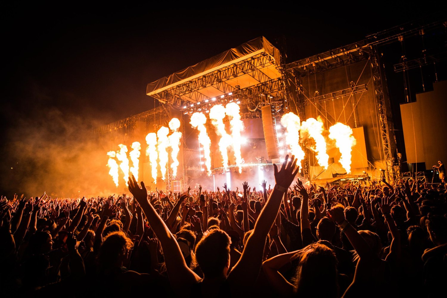 Music festival tickets; VIP and hospitality