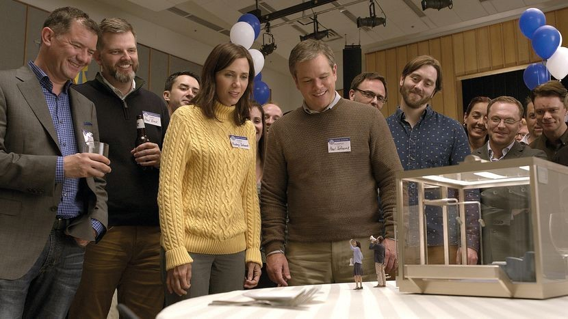 london film festival DOWNSIZING - Friday 13 October 2017 18:00 Odeon Leicester Square