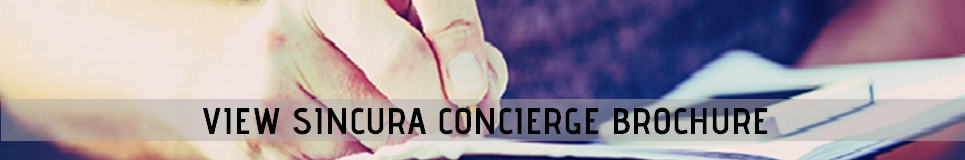 sincura concierge brochure