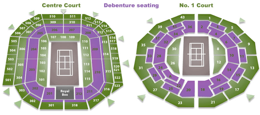 Wimbledon Debenture Tickets Corporate hospitality packages for you and your guests at Wimbledon 2017 Centre Court Court One tickets VIP Hospitality