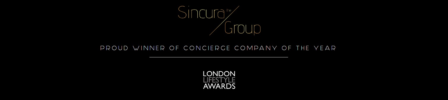 sincura award winning concierge